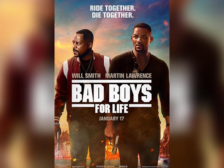 """إيرادات الأربعاء.. """"Bad Boys For Life"""" الأول و""""1917"""" بالمركز الخامس"""
