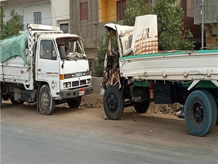 """إصابة 5 أشخاص في حادث تصادم بـ""""الزراعي الشرقي"""" في أخميم"""
