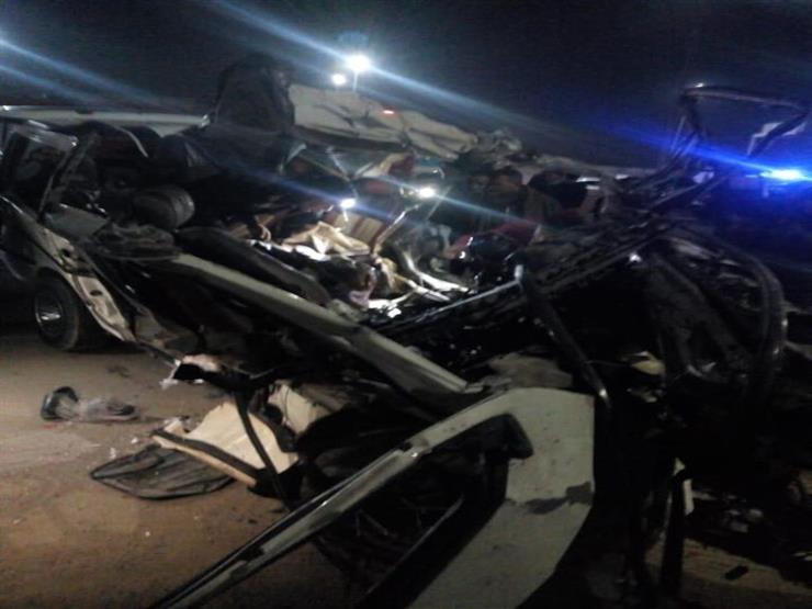 """آلات حديثة لقص هياكل السيارات لاستخراج جثامين ضحايا حادث """"الإقليمي"""""""