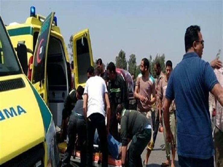 مصرع فتاة وإصابة 4 أشخاص في حادث تصادم ببني سويف
