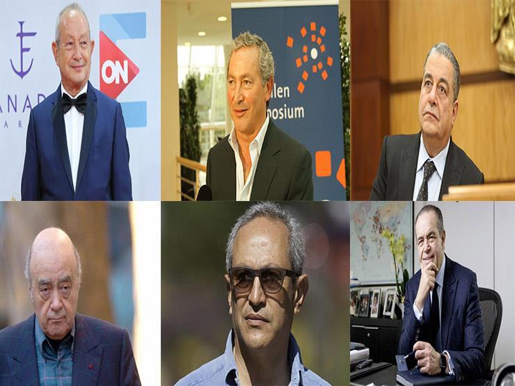 6 مصريين ضمن قائمة فوربس لأغنياء العرب في 2020 (إنفوجرافيك تفاعلي)