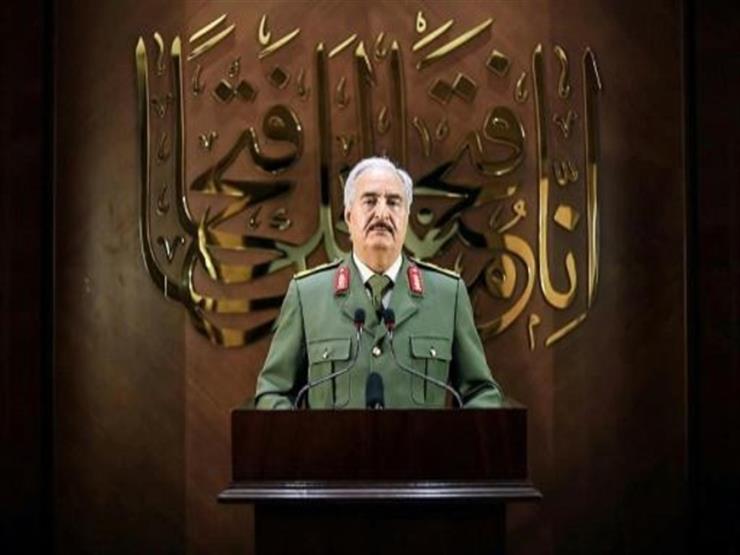 قائد الجيش الليبي يتسلم رسالة هامة من الرئيس السيسي