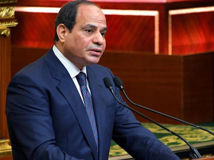 السيسي يوجه رسالة للمصريين بشأن استمرار عمل المدارس والجامعات