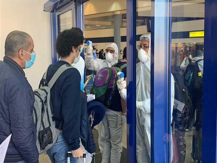 144 من المصريين العالقين بإثيوبيا وكينيا يصلون فجر اليوم