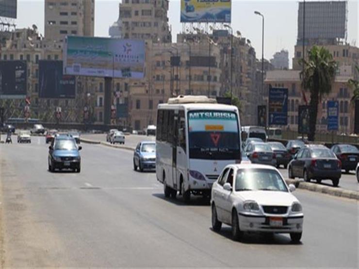 النشرة المرورية.. كثافات متحركة أعلى كوبري أكتوبر والدائري وكورنيش النيل