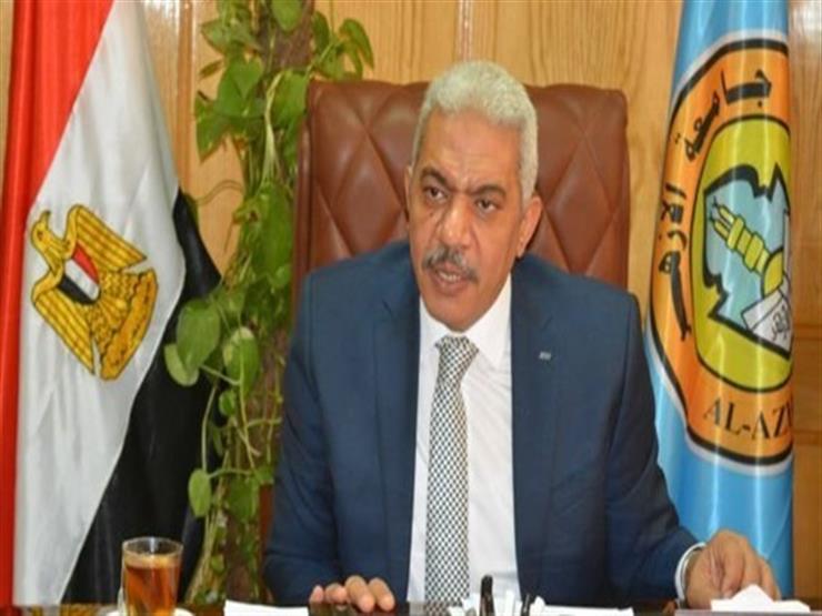 نائب رئيس جامعة الأزهر يتفقد لجان امتحانات الفرق النهائية بأسيوط