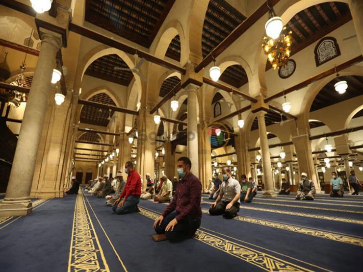 الأوقاف: إقامة صلاة التراويح بالمساجد التي تزيد مساحتها عن 100 متر