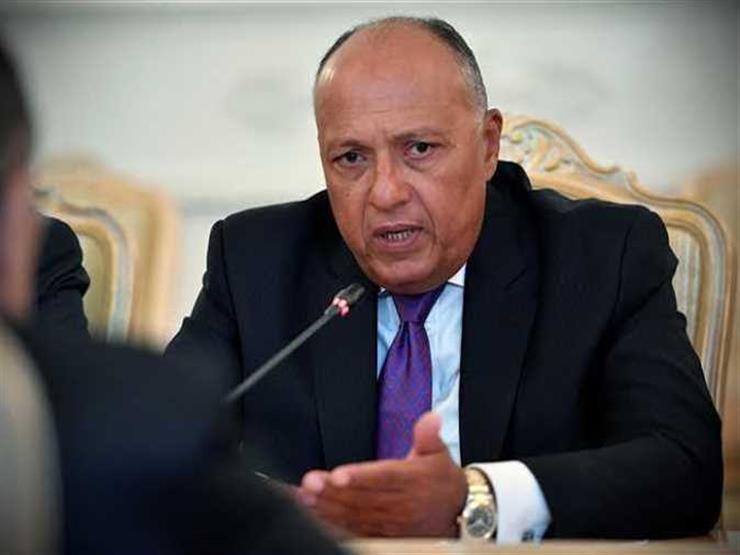 شكرى: العدوان الأخير على ليبيا لا يمكن أن يظل دون رادع