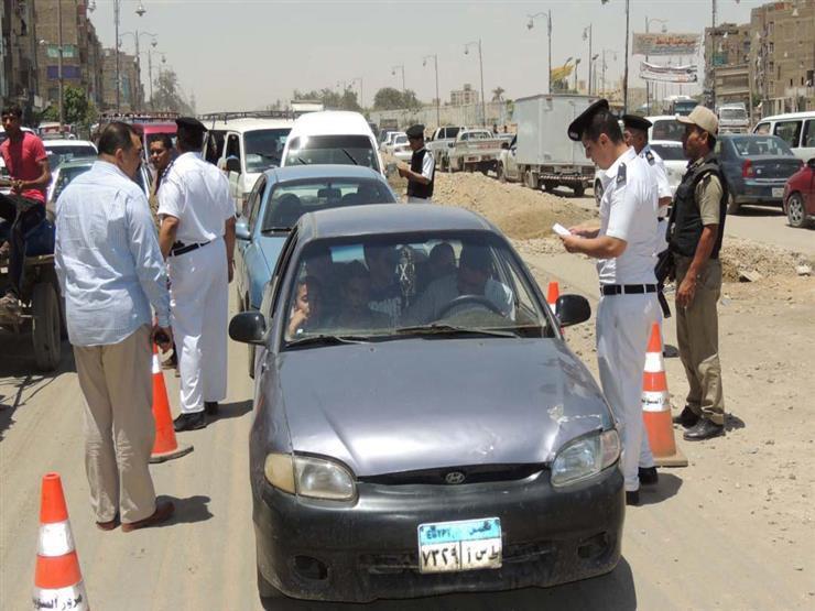 ضبط 3 آلاف مخالفة مرورية متنوعة خلال يوم بالمحافظات