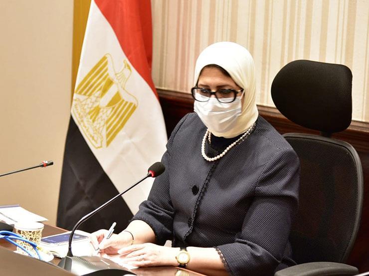 وزيرة الصحة: تعاقدنا مع المعامل الخاصة لتقديم الخدمة لأصحاب الأمراض المزمنة