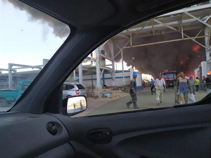 """رئيس """"السويس للبترول"""": إخماد حريق محدود بمنطقة المستودعات الشمالية"""