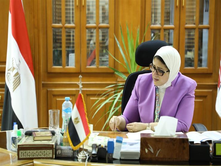وزيرة الصحة تطالب بارتداء الكمامات خلال التصويت بانتخابات الشيوخ