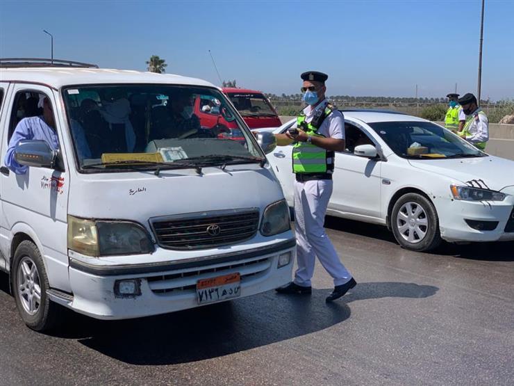الداخلية: اتخاذ الإجراءات القانونية ضد 1851 سائق نقل جماعي لعدم ارتداء الكمامة