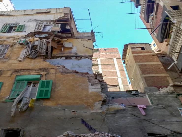 النيابة العامة تواصل التحقيق في انهيار عقار بطنطا