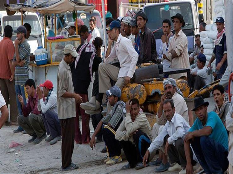 البطالة في مصر ترتفع لأعلى مستوى في نحو عامين بسبب كورونا (إنفوجرافيك)