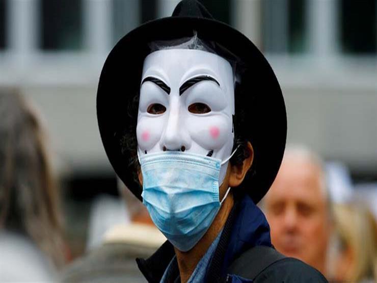 اعتقالات خلال احتجاجات على إجراءات الحد من انتشار كورونا في لندن