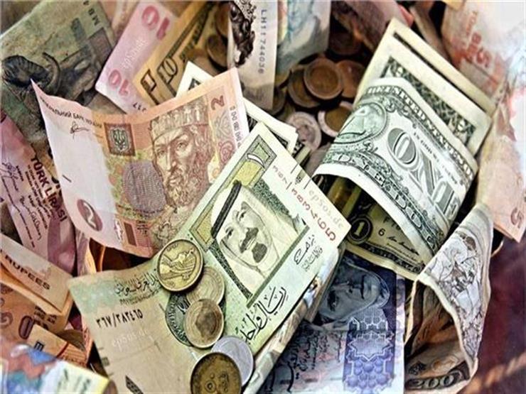 تراجع أسعار 4 عملات عربية مقابل الجنيه في تعاملات اليوم