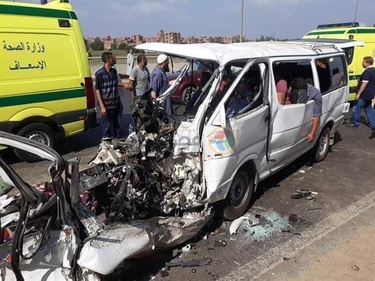 إصابة 5 في حادث تصادم بالطريق الإقليمي بالشرقية