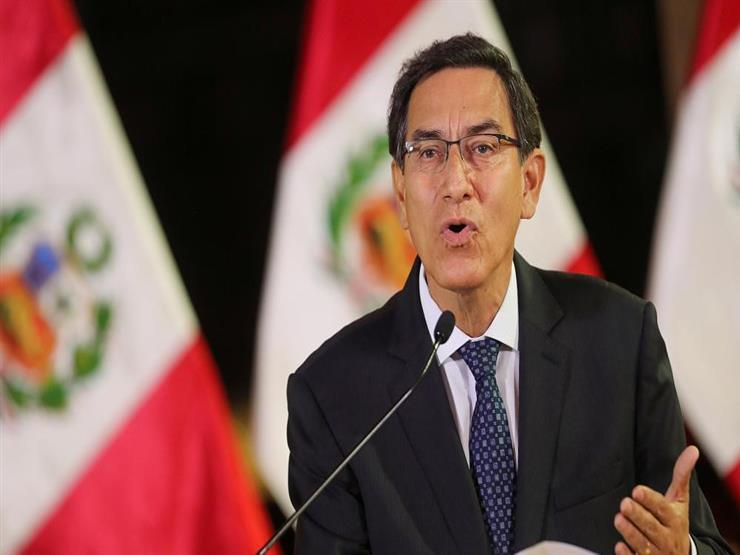 رئيس بيرو السابق فيزكارا يصاب بكورونا رغم تلقي التطعيم
