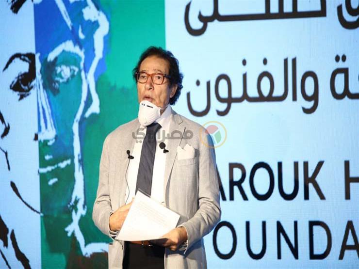فاروق حسني: إبداع الشباب أمر مُطمئن على مستقبل الوطن