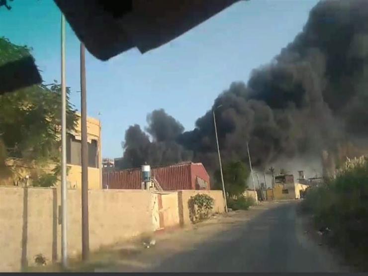 حريق في مصنع سكر بالخانكة على مساحة 8 آلاف مترمربع