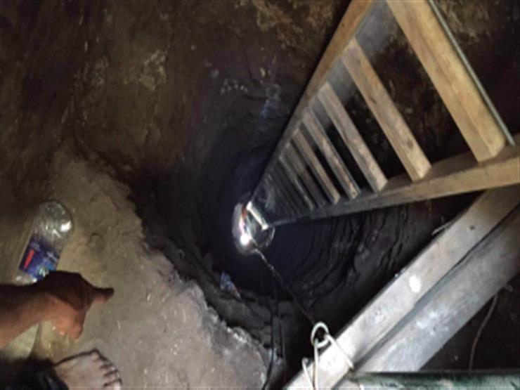 ضبط 8 أشخاص أثناء التنقيب عن الآثار في قرية بالفيوم