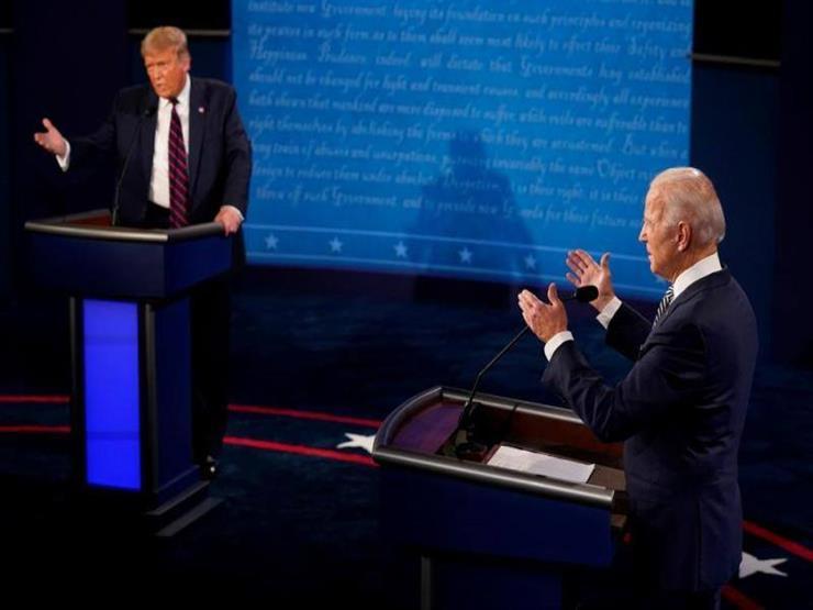 """استطلاع أمريكي: معظم مشاهدي المناظرة الرئاسية """"منزعجون"""" والأغلبية تعتقد بفوز بايدن"""
