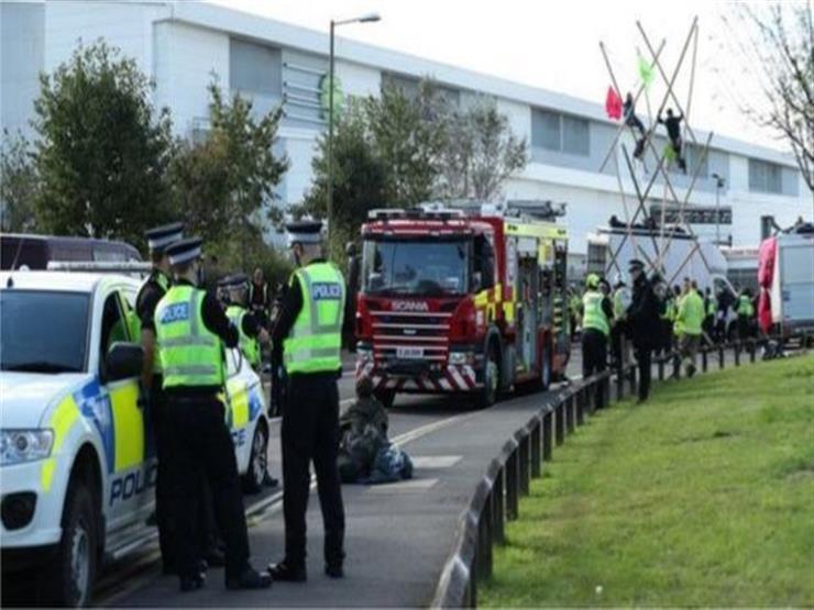 احتجاجات نشطاء المناخ تؤخر طباعة الصحف البريطانية