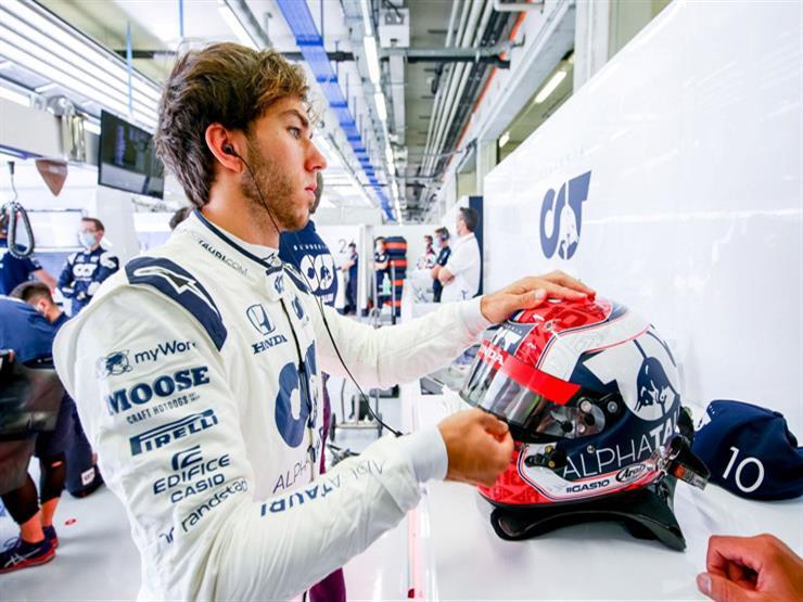 بيير جاسلي سائق ألفا تاوري يحقق المفاجأة ويتوج بطلًا لفورمولا-1 الإيطالي
