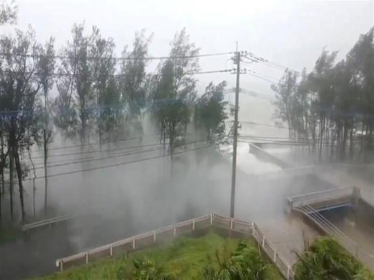 إعصار هايشن القوي يقترب من كوريا الجنوبية بعد تسببه في أمطار غزيرة باليابان