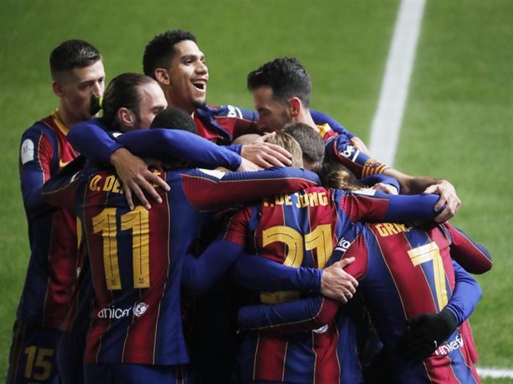 تير شتيجن يقود برشلونة لنهائي السوبر الإسباني بالفوز على ريال سوسيداد