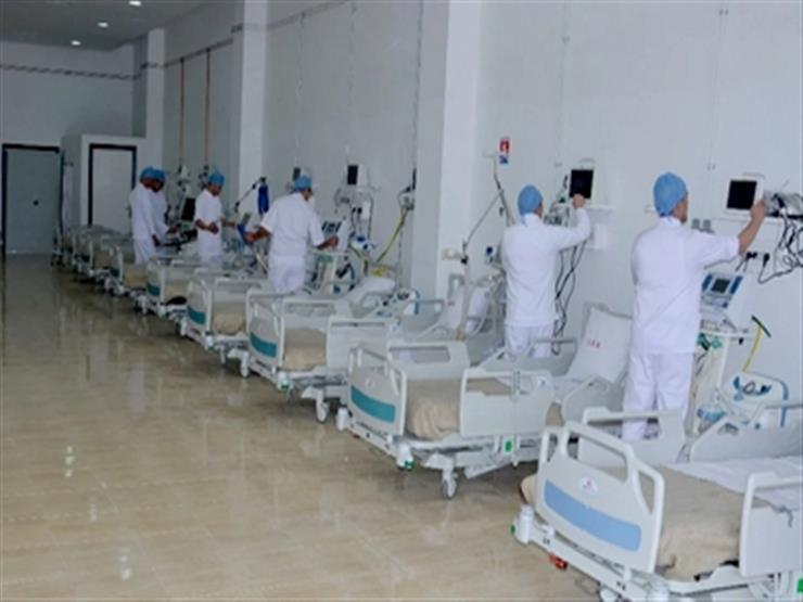 """""""الصحة"""" تنفي نفاد الأكسجين في عزل مستشفى """"العمال كرموز"""" بالإسكندرية"""