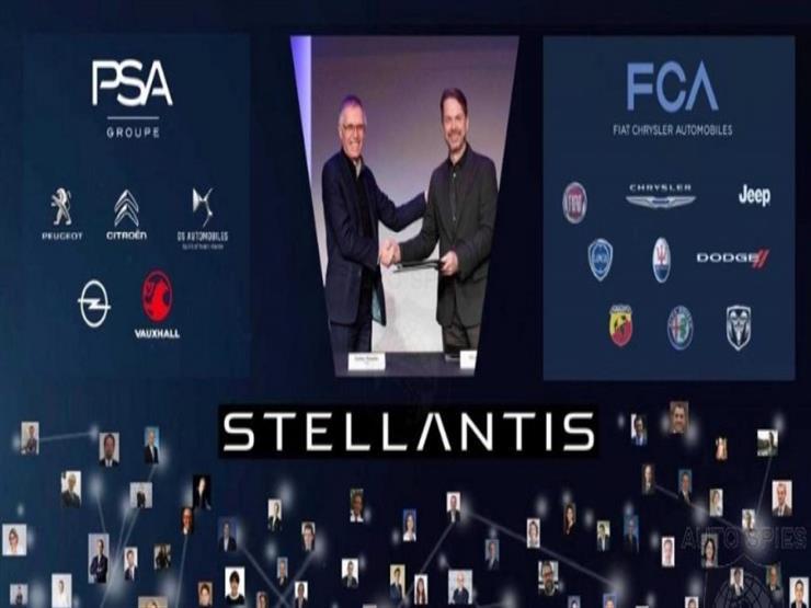 """صورة رسميًا.. اندماج """"فيات وPSA"""" في شركة """"ستيلانتيس"""" العملاقة الج"""