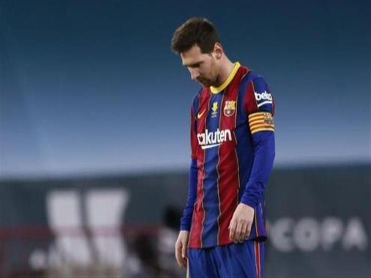 أول تعليق لمدرب برشلونة على طرد ميسي في السوبر الإسباني