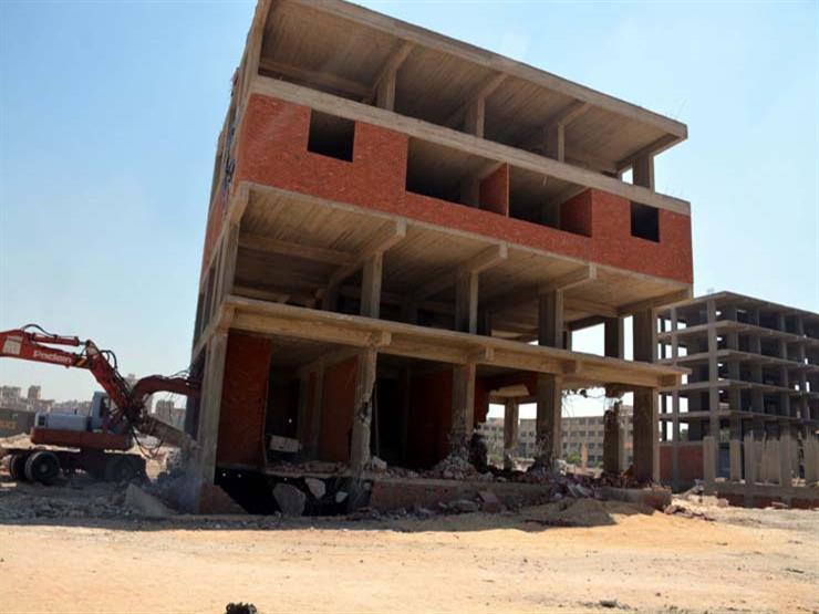 299 طلب تصالح على مخالفات البناء في مدينة أبوزنيمة بجنوب سيناء