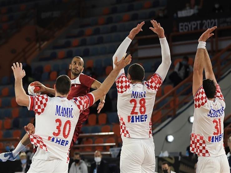 قطر تخسر أمام كرواتيا وتفرط في صدارة المجموعة بمونديال اليد