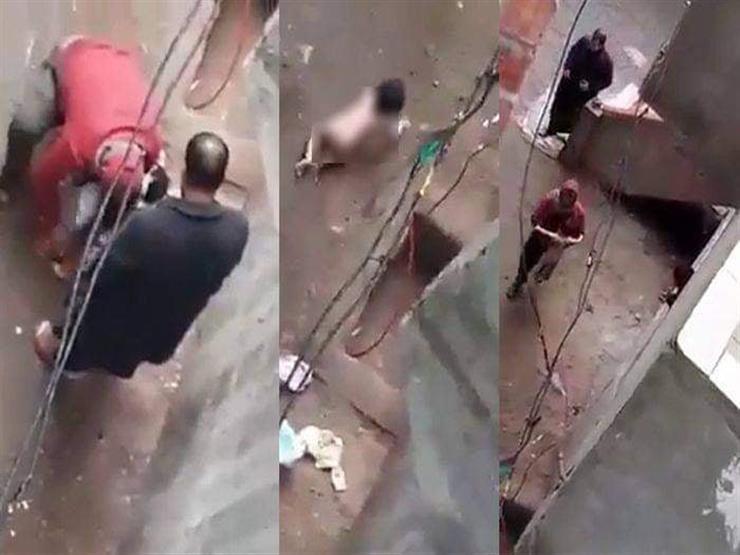 حبس الأب المتهم بتعرية ابنته الرضيعة في الدقهلية 4 أيام