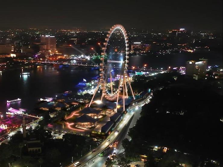 """بارتفاع 120 مترا في قلب القاهرة.. 10 معلومات عن """"Cairo Eye"""" أكبر عجلة دوارة في أفريقيا"""