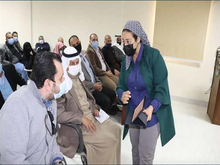 نائب محافظ جنوب سيناء تستعرض المخطط الاستراتيجي لمدينة أبورديس أمام المواطنين