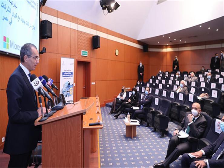 وزير الاتصالات يشهد إعلان شراكات جديدة مع شركات التكنولوجيا بمصر