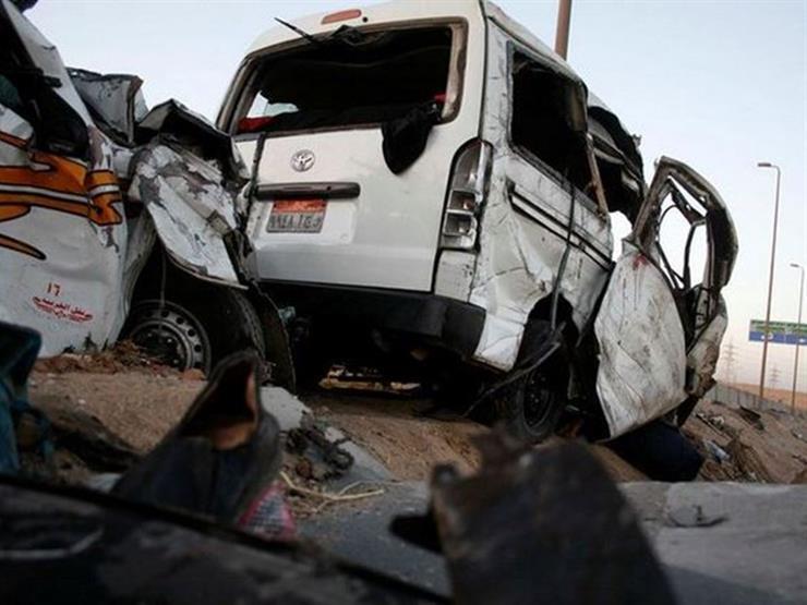 4 إصابات في حادث سير ببني سويف