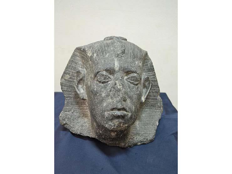 احتفالا بعيد الشرطة.. رأس الملك سنوسرت الثالث قطعة الشهر بالمتحف المصري