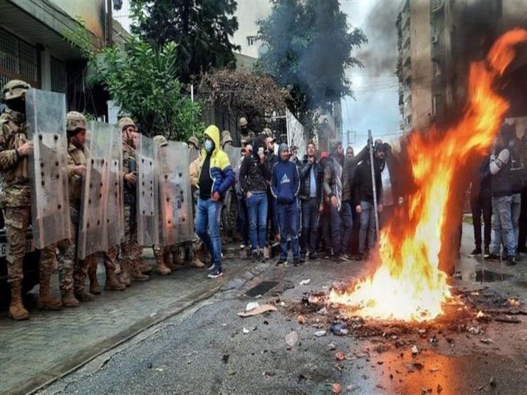 إحراق بلدية طرابلس والحريري ينتقد موقف الجيش