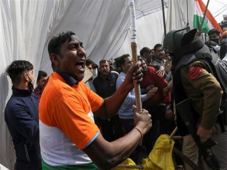 احتجاجات الهند: إضراب آلاف المزارعين عن الطعام
