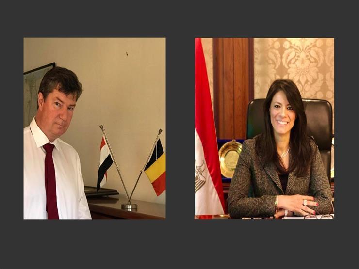 وزيرة التعاون الدولي تبحث مع سفير بلجيكا التعاون التنموي بين البلدين