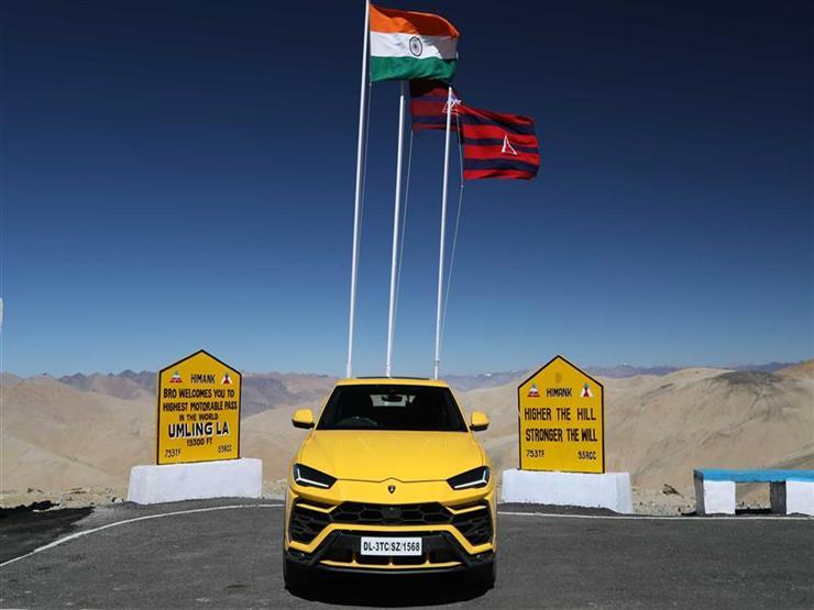 هكذا أظهرت لامبورجيني أوروس قدراتها فوق جبال الهند الشاهقة.. صور