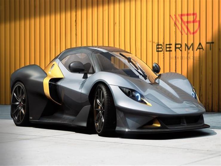 """صورة """"بيرمات"""" الإيطالية تكشف النقاب عن سيارتها GT الرياضية بقوة 4"""