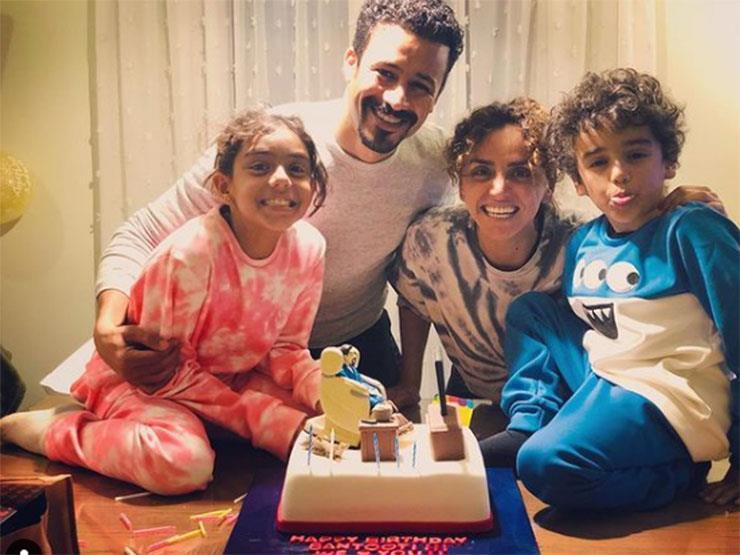 فيديو وصور| علا رشدي تحتفل بعيد ميلاد زوجها