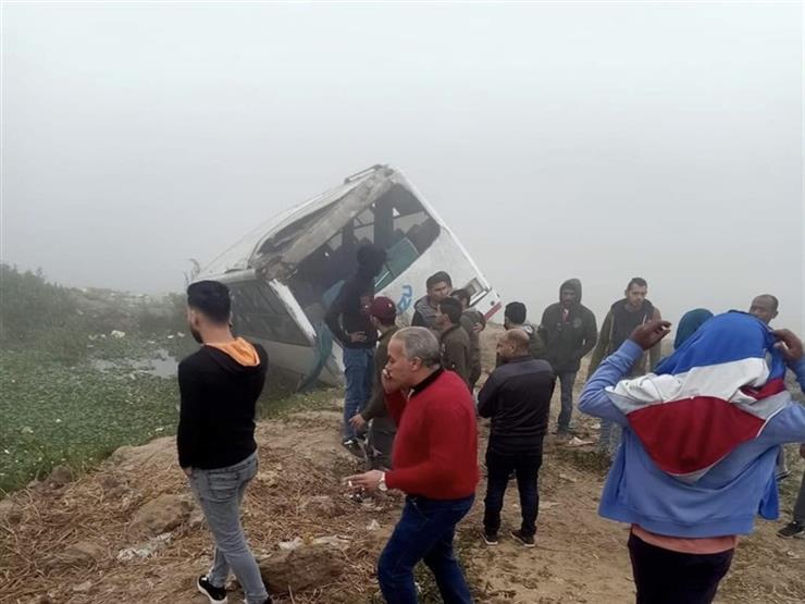 بالأسماء.. إصابة 66 شخصًا في حادث طريق الإسماعيلية الزراعي