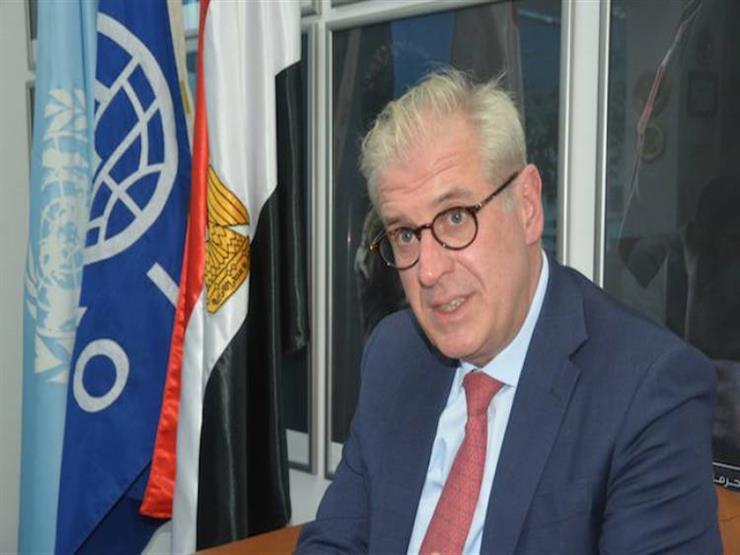 رئيس بعثة المنظمة الدولية للهجرة يشيد بجهود مصر والخدمات التي تقدمها للاجئين